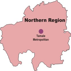 north_region_1 Upper East Region Of Ghana Map on weather today in ghana, map of ancient africa ghana, map of ghana brong ahafo region, map of north eastern region us,